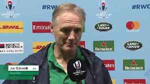 Schmidt praises fans after Ireland secured QF spot [Video]