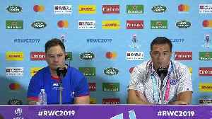 Jackson and Lam speak at post match press conference [Video]