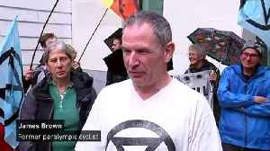 Former Paralympian denies climate protest charges [Video]
