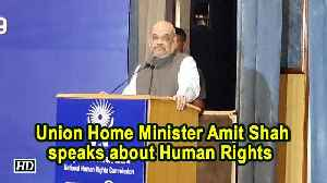 News video: Redefine human rights in Indian context: Amit Shah