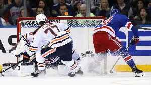 News video: Kaapo Kakko dekes to his backhand to tally first NHL goal