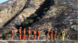 News video: Firefighters Make Slow, Steady Progress In Defeating LA Fires