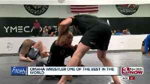 News video: Omaha Wrestler One of the Best in the World