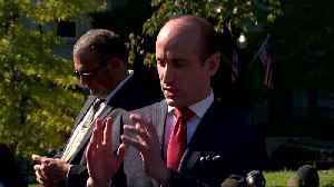 Miller spars with reporters over comparisons between Hunter Biden and Ivanka Trump [Video]