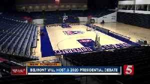 Belmont University will host 2020 presidential debate [Video]