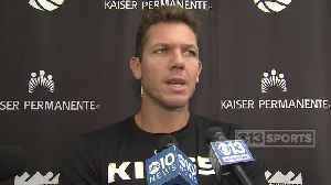 Luke Walton Talks Preseason Changes [Video]