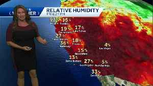 Warm temps to start the weekend with a cool down beginning on Sunday [Video]