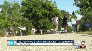 Kidnapping story turns out to be a hoax [Video]