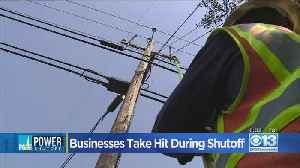 Businesses Take Hit During Shutoff [Video]
