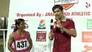 Dutee Chand's Reaction on Breaking the Women's 100m National Record [Video]