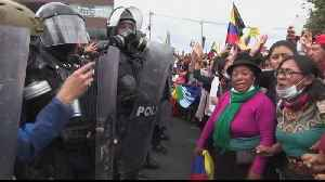 Ecuador sees 10th day of anti-austerity protests [Video]