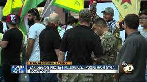 San Diegans protest pulling U.S. troops from Syria [Video]
