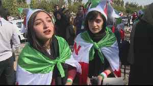 Iran beat Cambodia 14-0 in historic match attended by women [Video]