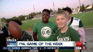 Playing football with future Kern County stars [Video]