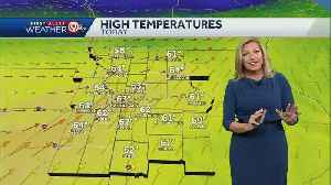 Warmer but windy for your Saturday [Video]