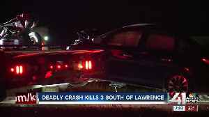 2-vehicle crash kills 3 people in Douglas County, KS [Video]