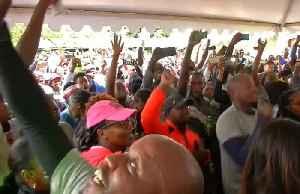Proud Kenyans praise Kipchoge after marathon run [Video]
