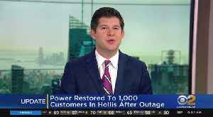 Power Restored To 1,000 Customers In Hollis After Outage [Video]