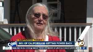 Nearly all Californians getting power back [Video]
