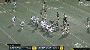 Eastlake High v. Bonita Vista football at Southwestern College [Video]