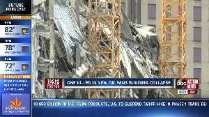 News video: 1 person killed, 18 hurt after crane collapses at Hard Rock Hotel construction site in New Orleans