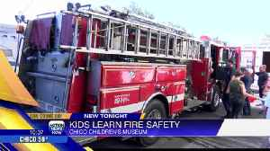 Kids learn about fire safety from Chico firefighters [Video]