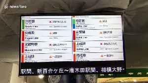 Typhoon Hagibis causes travel disruption around Tokyo [Video]