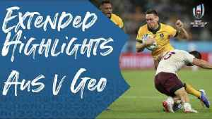 Extended Highlights : Australia v Georgia [Video]