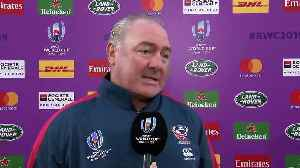Gary Gold after USA's last match at Rugby World Cup 2019 [Video]