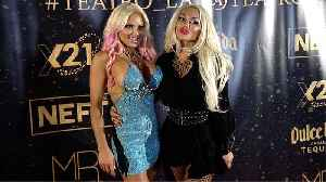 """Suzanne Stokes, Crystal Kuns """"TEATRO LA"""" Party Red Carpet [Video]"""