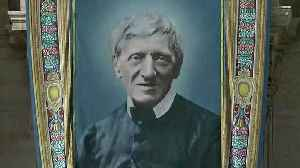 Cardinal Newman declared a saint by Pope Francis along with four other religious figures [Video]