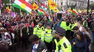 Kurds and Londoners gather to protest Turkish invasion of northern Syria [Video]