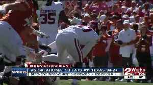 #6 Oklahoma Beats #11 Texas 34-27 in Red River Showdown [Video]