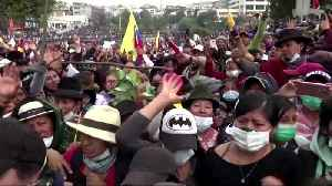 Ecuador's capital rocked by clashes [Video]