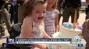 Martin County Sheriff's Office helps throw surprise birthday party [Video]