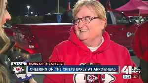 Early start for fans of Chiefs Kingdom [Video]