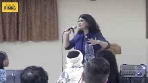Rashida Tlaib threatening to arrest Trump administration officials [Video]