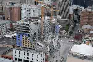 Hard Rock Hotel Collapse Aftermath [Video]