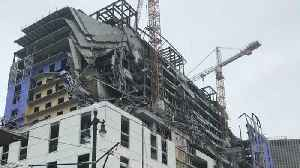 News video: 2 Dead In New Orleans Hard Rock Hotel Collapse, 1 Person Still Missing