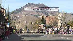 Sheep parade culminates the end of the 23rd Trailing of the Sheep festival in Ketchum [Video]