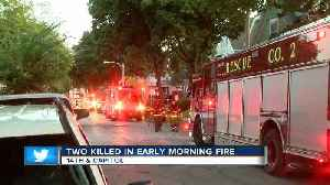 Two killed in early morning fire near Capitol Drive. [Video]
