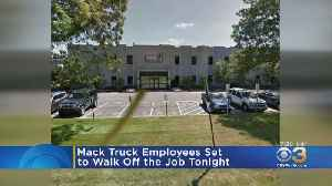 News video: Thousands Of Mack Truck Workers Set To Go On Strike