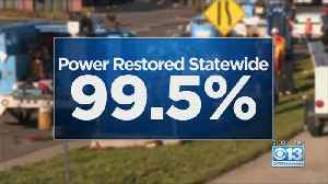Approx. 2,500 PG&E Customers Still Without Power [Video]