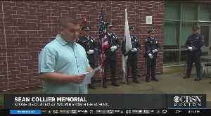 Wilmington High School Senior Dedicates Stone To Fallen MIT Police Officer Killed After Marathon Bombings [Video]