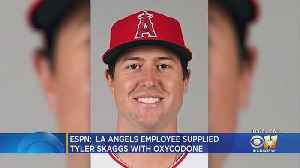 Angels PR Employee Supplied Tyler Skaggs With Opioids, ESPN Reports [Video]