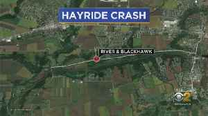 Hayride Involved In Crash In Kendall County, 11 People Injured [Video]