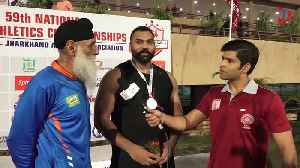 News video: Tajinder Pal Singh Toor Sets New National Shot Put Record