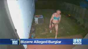 Man Invades El Dorado Hill's Home Wearing Only Bra And Panties [Video]