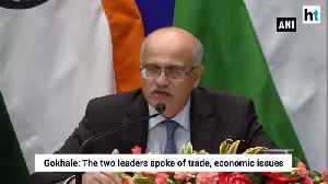 News video: PM Modi Xi discussed trade threat from terrorism Foreign Secretary
