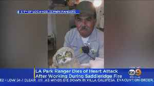 40-Year Employee Of LA City Park Rangers Dies Of Heart Attack After Working During Saddle Ridge Fire [Video]